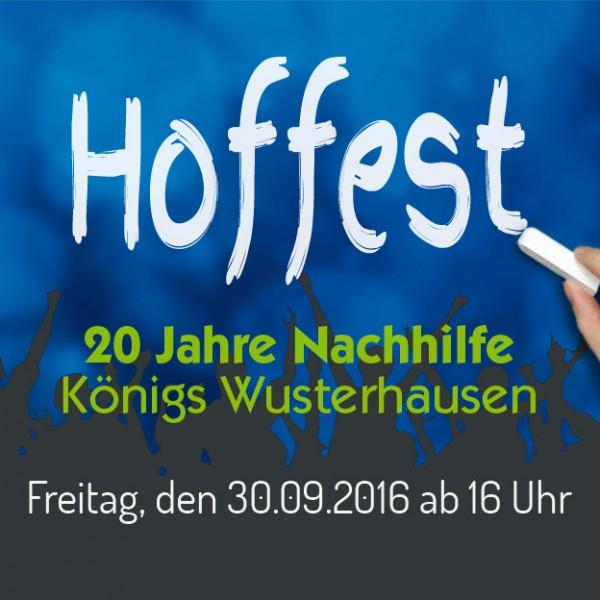 Hoffest am 30. September in Königs Wusterhausen