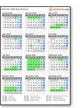 Ferienkalender 2019 Brandenburg